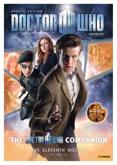 Doctor Who Magazine: The Doctor Who Companion the Eleventh Doctor, Special Edition, Vol. Fifth Doctor, Eleventh Doctor, Doctor Who Specials, Doctor Who Magazine, The Eleven, Sci Fi Shows, Dr Who, Mad Men, Songs