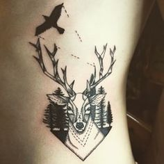 A Bird, Deer, or Wolf | The Definitive Ranking Of Hipster Tattoos