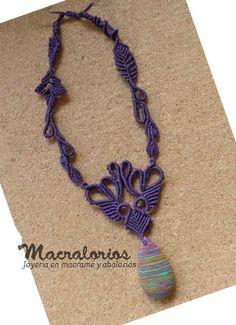 Macrame and Beads: micro-macrame