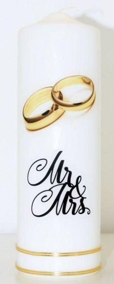 Hochzeitskerze Goldene Ringe Mugs, Tableware, Wedding Gold, Wedding Day, Candles, Dinnerware, Tumbler, Dishes, Mug