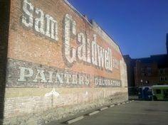 Sam Caldwell & Co. ghost sign, Cincinnati