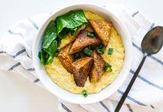 50 Plates of Tofu: Louisiana - Blackened Tofu and Grits/Tofu Recipe | House Foods