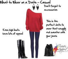 what to wear on a date - casual