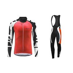 UGLYFROG Newest 01 Long Sleeve Cycling Jersey  Bib Tight Sets with Gel Pad Men Breathable Outdoor Sports Wear Spring Bicycle Triathlon Top Quick Dry -- Check this awesome product by going to the link at the image.Note:It is affiliate link to Amazon.