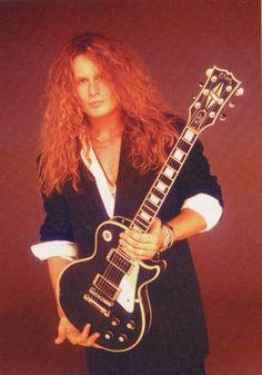 John Sykes. He wrote + played everything on Whitesnake hit album...then got fired. www.lessonator.com