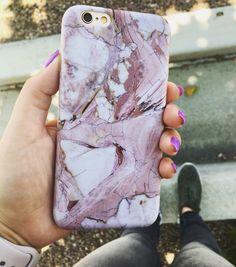 Rose marble lunch break for iPhone 6/6s and 6 Plus/6s Plus. iPhone Case from Elemental Cases