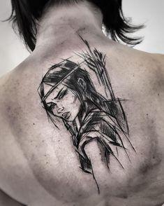 3,015 vind-ik-leuks, 23 reacties - Inez Janiak (@ineepine) op Instagram: '#blacktattoomag #blacktattooart #btattooing #darkartists #inkstinctsubmission #equilattera #tattoo…'