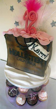 Hollister Birthday Cake  Te COOLEST cake ever