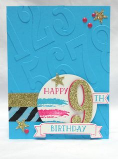 Stamp & Create With Sabrina: Number of Years & Large Numbers Bundle - Part 5