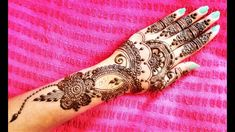 Henna Mehndi, Hand Henna, Hand Tattoos, Design