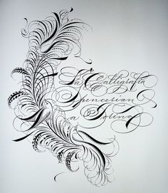 Spencerian workshop a Torino by Barbara Calzolari, via Flickr