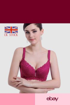559b8f4b85d6f Push Up Brassiere Enhancer Padded Underwire Bra 36 38 40 42 44 C D