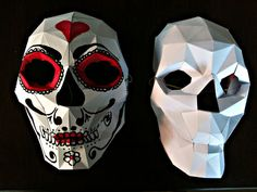 Picture of Bonus: Papercraft Skull Mask