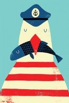 A million and 1 iphone backgrounds by awesome artists!!!!!                             A Sailor's Life for Me by Monster Riot