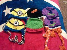 Minion, Frozen TMNT Hats