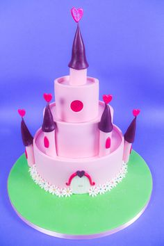 Learn how to make this Fairy Castle step-by-step