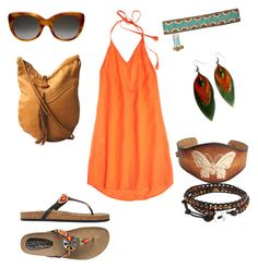 Music Festival by kasey07 on Polyvore featuring Calypso St. Barth, Coconuts, Bling Jewelry, Victoria Beckham and M&F Western
