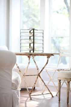 Antique French Metal Tart Rack .. I have one of these little beauties!