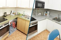 Küchenrenovierung Led Spots, Kitchen Island, Modern, Home Decor, Old Kitchen, Set Of Drawers, Simple, Island Kitchen, Trendy Tree