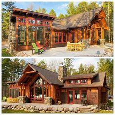 81 отметок «Нравится», 3 комментариев — Log Cabin Bureau (@logcabinbureau) в Instagram: «The Lang by Tomahawk Log & Country Homes of Tomahawk, WI. #loghome #logcabin #wisconsin…»
