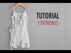 Aprender a coser: vestido cruzado mujer (patrones gratis) (Oh, Mother Mine DIY!) - Walls Tutorial and Ideas Dress Sewing Patterns, Sewing Patterns Free, Clothing Patterns, Free Pattern, Skirt Patterns, Coat Patterns, Blouse Patterns, Fashion Sewing, Diy Fashion