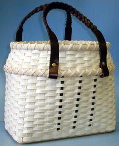 Around Town Tote Basket Pattern