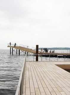 Harbour Bath joins the inner city to the waterfront of Faaborg, Denmark. Click image for link to full profile and visit the slowottawa.ca boards >> https://www.pinterest.com/slowottawa/boards/