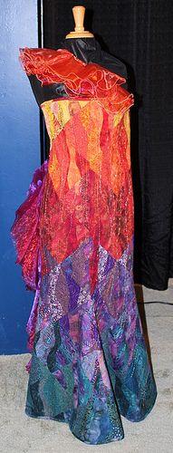 Wearable Art ExhibitWearable Art Exhibit      International Quilt Market - Houston, Tx   November 1, 2010