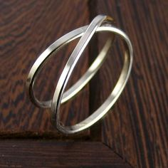 14K Palladium White Gold Infinity Eternity Ring by seababejewelry, $279.00