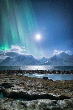 Aurora Borealis in Lyngen Norway                                                                                                                                                     Plus