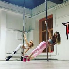 "124 Likes, 5 Comments - POLE DANCE ONLINE (@opendanceacademy) on Instagram: ""Double power @anastasiamila & @kiranoire #exotic #exoticpole #pole #poledance #poledancer…"""