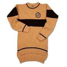 Wizarding World Of Harry Potter Hufflepuff Quidditch Sweater