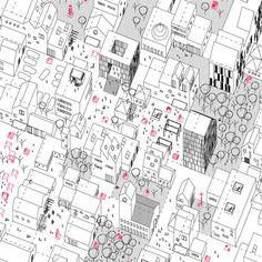 Tesis: 'Hacia un método de configuración'. Van Eyck / Blom / Hertzberger. Iniciadores y sucesores'. Autor: Luis Palacios