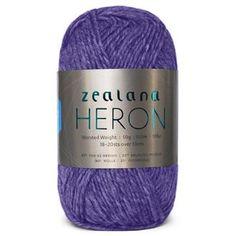 Zealana Heron Worsted H10 Twilight