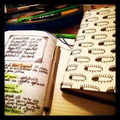 Lavoro creativo inteso come revival cartaceo massivo... #creativity #lomo #visual #writing #sketchnotes #journal #tigerstore #drawing