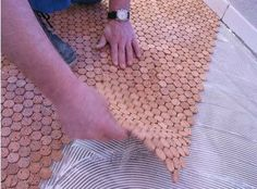 Recycled Cork Mosaic Flooring | Apartment Therapy