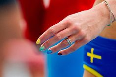 Rainbow Nails Spark Debate in #Moscow [Image Credit: Erik Mårtensson/Scanpix]