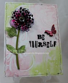 Eclectic Paperie: Be Yourself