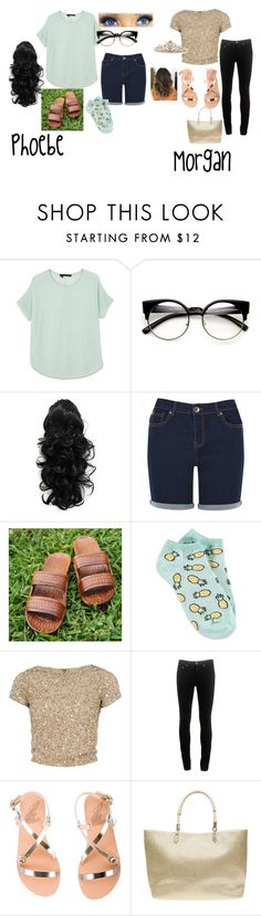 """Morgan and Phoebe"" by phoridavies on Polyvore featuring 360 Sweater, Oasis, Forever 21, Alice + Olivia, rag & bone, Ancient Greek Sandals, Dorothy Perkins, BillyTheTree, cousin and ducktape"