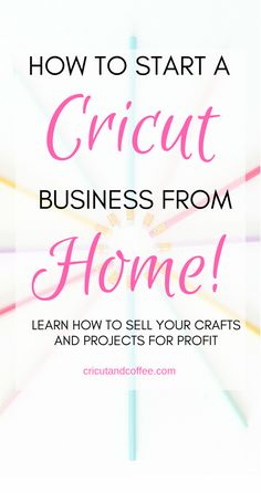 this FREE e-mail course, you will learn the everything you need to know to start a Cricut . In this FREE e-mail course, you will learn the everything you need to know to start a Cricut business from home selling your crafts and projects. Etsy Business, Craft Business, Business Ideas, Business Help, Business School, Business Essentials, Successful Business, Business Education, Business Planning