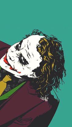 Joker Batman, Joker Dc Comics, Joker Comic, Heath Ledger Joker, Joker Art, Comic Art, Joker Iphone Wallpaper, Joker Wallpapers, Fotos Do Joker