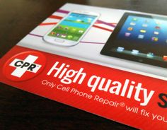 """Check out new work on my @Behance portfolio: """"Cell Phone Repair Store Marketing Rack Card"""" http://on.be.net/1bSpoQw"""