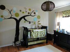 Paint tree in Baby's room . ✔