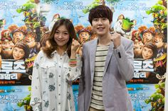 Kyuhyun and Luna to team up for their first duet song for 'The Croods' OST