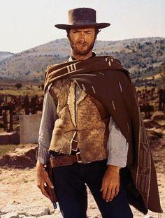 El Hombre sin nombre - El bueno, el malo y el feo - Clint Eastwood.