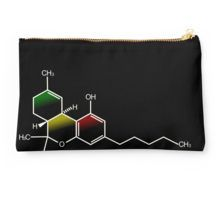 'The Science of THC' Throw Pillow by MellowGroove