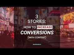 Here are 3 popular stories for business builders! How do you increase your conversion rate? With… 3 tips that should be impl. Popular Stories, Conversation, Content, This Or That Questions