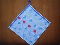 Towels ハンドメイドリボンのループタオルクルマ柄入園入学 インテリア 雑貨 Handmade ¥250yen 〆05月29日