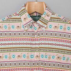 Gitman Vintage Peruvian Print Button Down Shirt