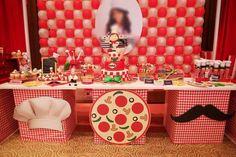 Pizza Birthday Party Ideas | Photo 1 of 47
